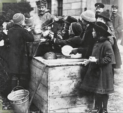 Soup Kitchen in Berlin during the blockade
