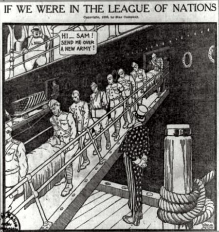 American Political Satire from 1919