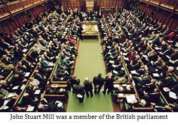 John Stuart Mill was a member of the English parliament